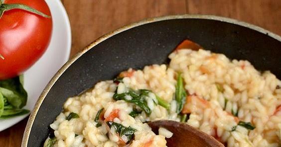 Tomato Basil Amp Spinach Risotto Food Master