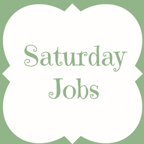 Saturday Jobs - Adventures of a DIY Mom - clean house jobs