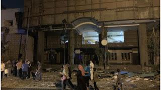 بالفيديو :19 قتيلا وعدد من المصابين في انفجارهائل في محيط معهد الأورام بقلب القاهرة