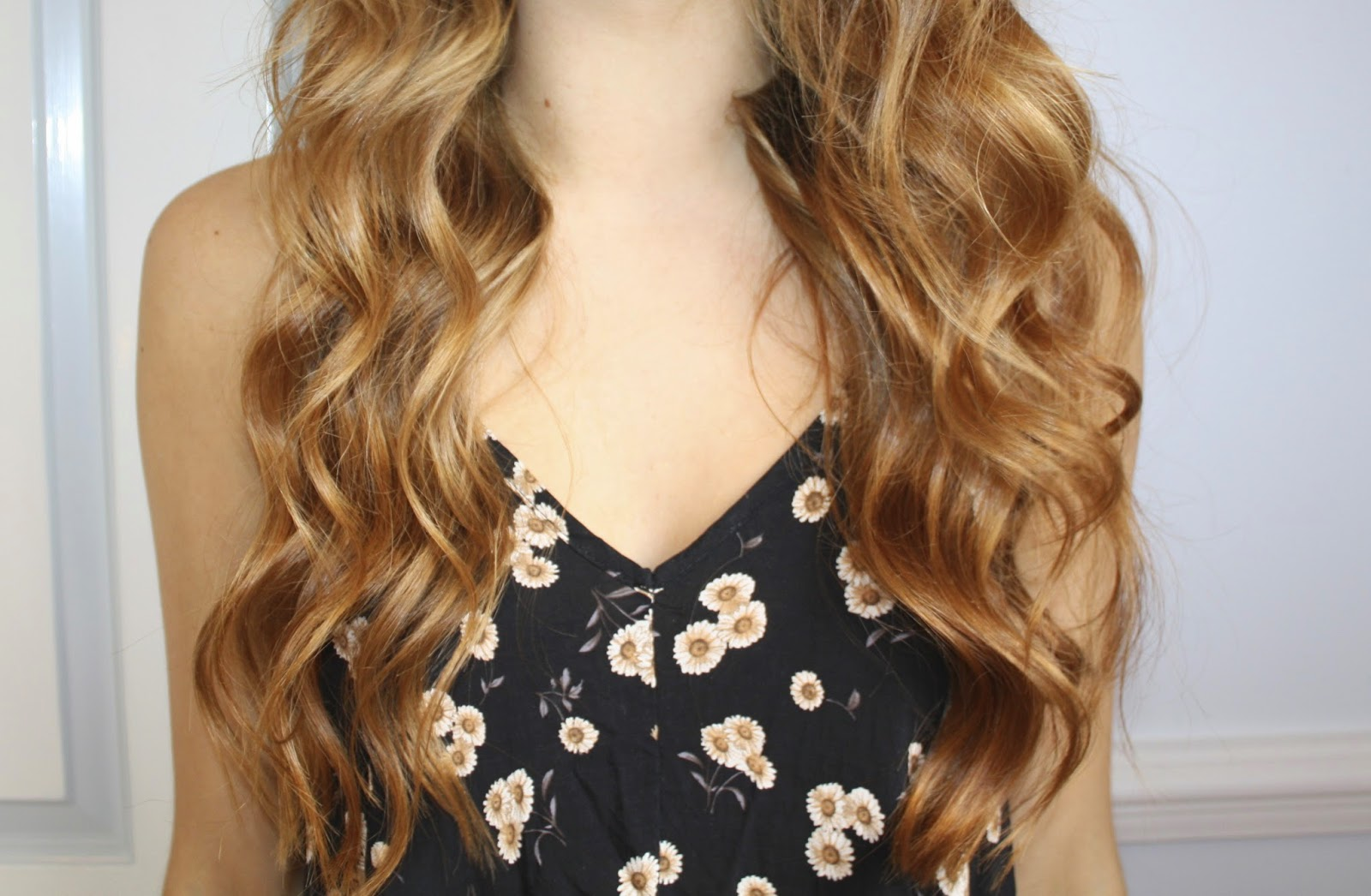 Written by me...: Loose Curls Tutorial for Long Hair