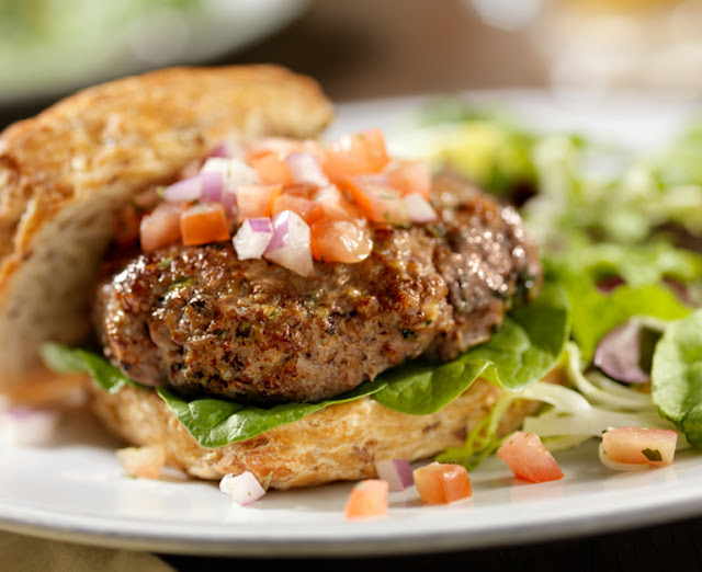 How to Make Ranch Burgers California Style