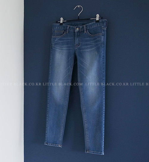 Five-Pocket Cropped Jeans