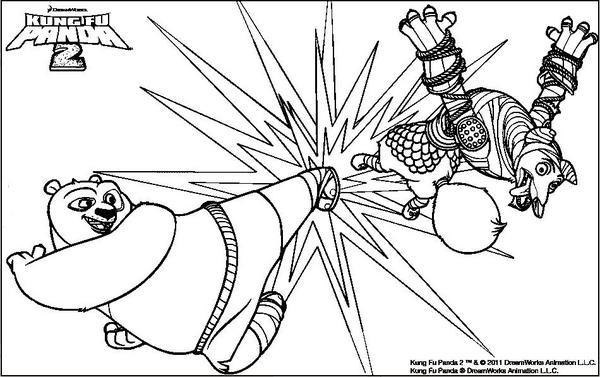 Disegni Da Colorare Disegni Da Colorare Kung Fu Panda 2 I