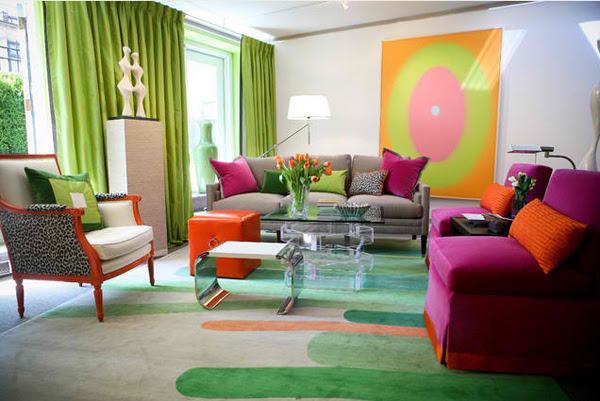 Décorations salons colorées ~ Décoration Salon / Décor de Salon