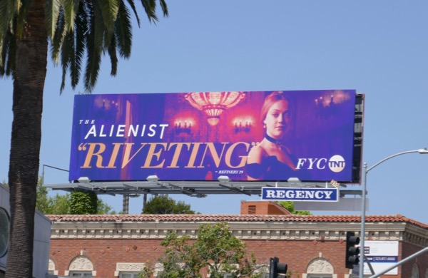 Alienist Riveting Emmy Dakota Fanning FYC billboard