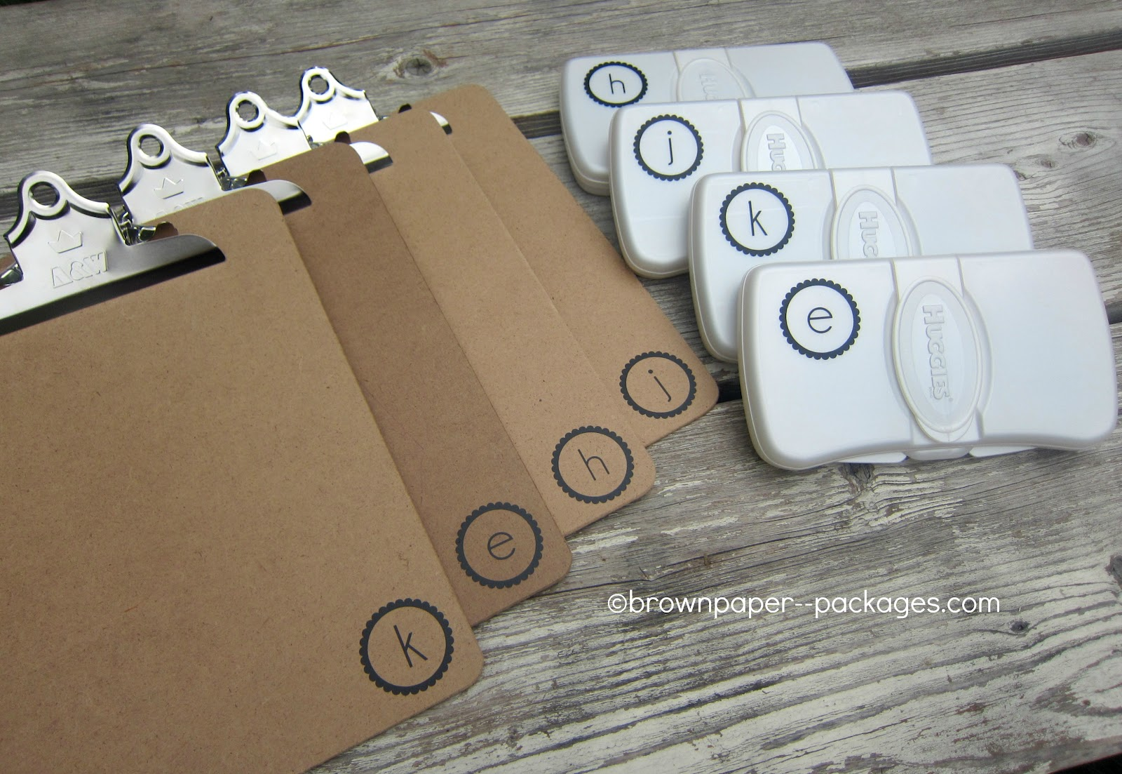 clipboards + wipes cases = easy coloring kits for kids ...
