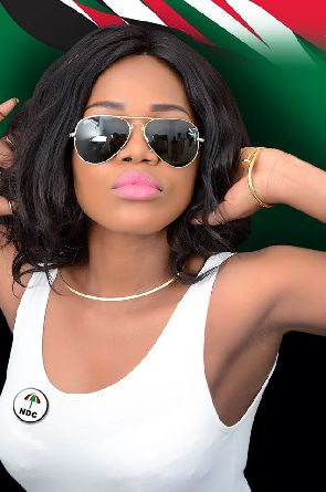 MzBel in tears after NPP supporters allegedly stormed her home