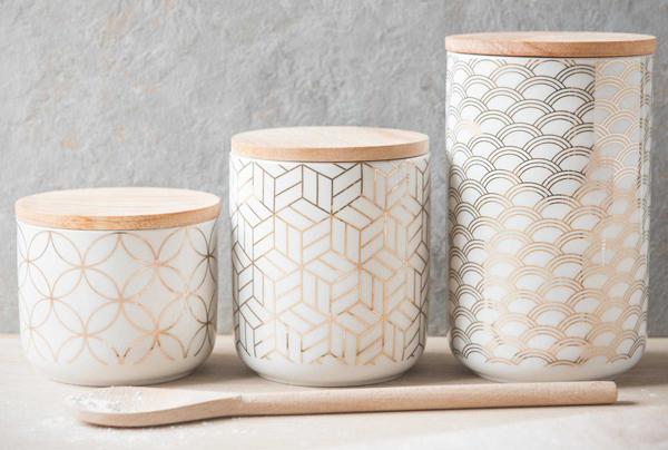 Print pattern maisons du monde modern copper for Container maison du monde