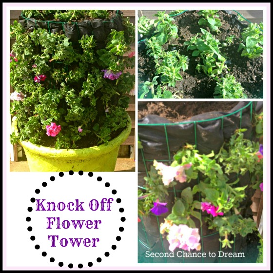 Diy Flower Tower Planter: Second Chance To Dream