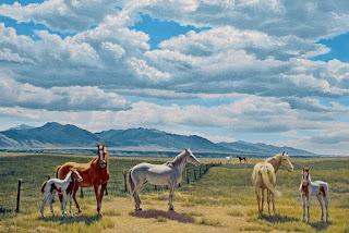 pinturas-realistas-ambientes-con-paisajes-y-animales escenas-paisajes-animales