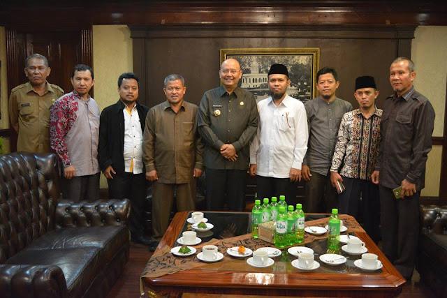 Walikota Medan Sambut Baik Kunjungan Panitia Milad PKS Ke-18