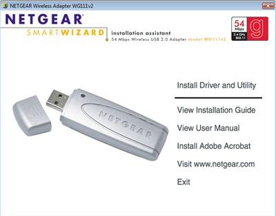 Application Simulation: Netgear USB Adapter installation
