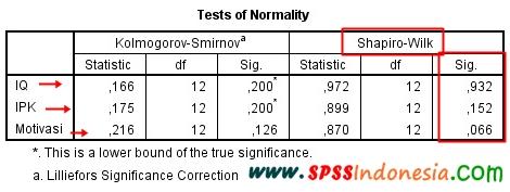 Uji Normalitas untuk Uji Korelasi Parsial dengan SPSS