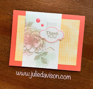4 April 2019 Paper Pumpkin Sentimental Rose Alternative Projects ~ www.juliedavison.com