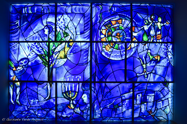 Chagall en el Art Institute Chicago, por El Guisante Verde Project