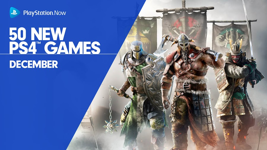 playstation now for honor ps4 lineup