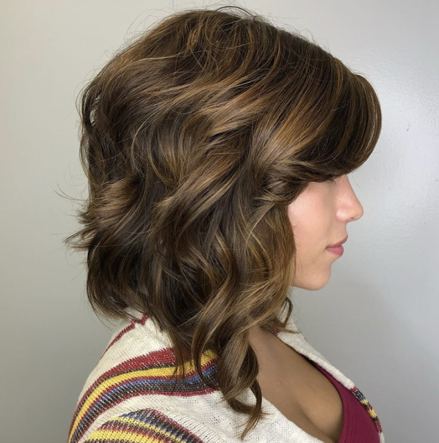 inverted bob long haircut