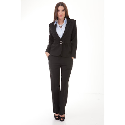 WOMEN'S SUITS, TROUSERS, AND DRESSES