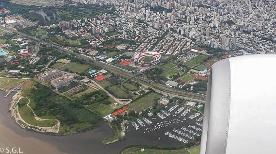 Buenos Aires y nuevo estadio del River Plate - El Monumental