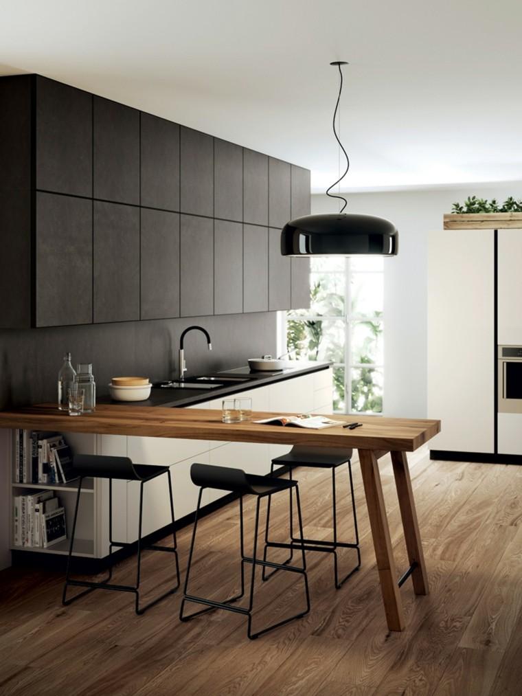 Ideas para decorar nuestra cocina con taburetes | Decorar en familia ...
