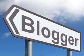 blogger sign board