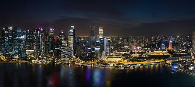 singapur, barvy, budovy, cestování, svět, singapore, Marina Bay
