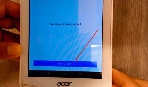 How to root the Acer iconia One 7 B1 770