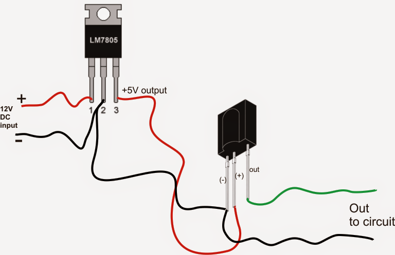 sensor wiring diagram infrared