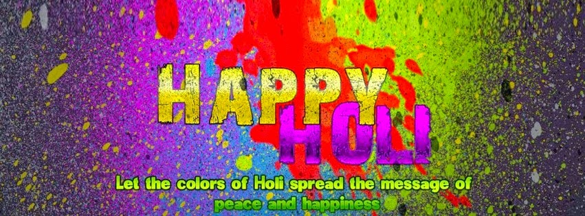 Happy Holi Facebook Pictures