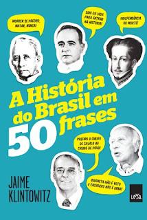 livro A História do Brasil em 50 Frases