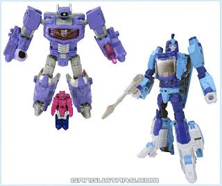 Transformers Titans Return Blurr Shockwave Hasbro Takara トランスフォーマーレジェンズ ショックウェーブ ブラー