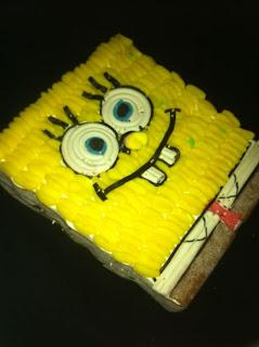 tarta de chuches de personajes
