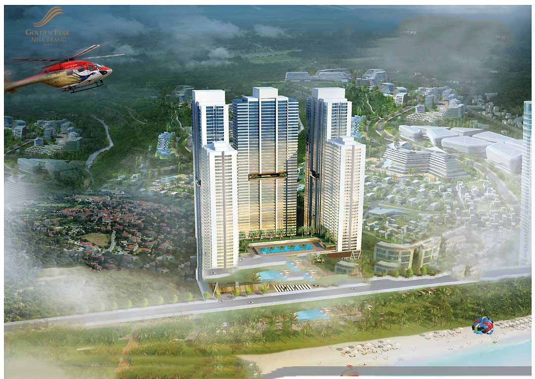 Phối cảnh dự án Golden Peak Trần Phú