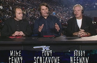 WCW Great American Bash 1999 - Tony Schiavone, Mike Tenay and Bobby Heenan