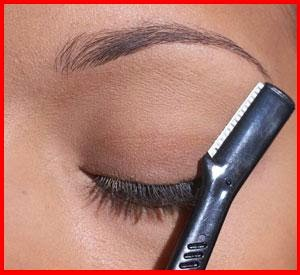 Eyebrow razors - what you should know about them