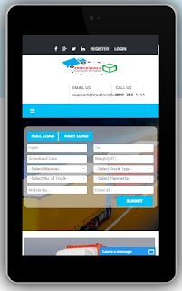 TruckWalk Online Truck Booking