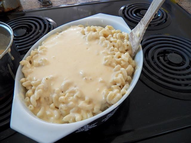 Macaroni with Bechamel Sauce