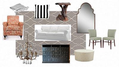 1201north: Genevieve Gorder Living Room