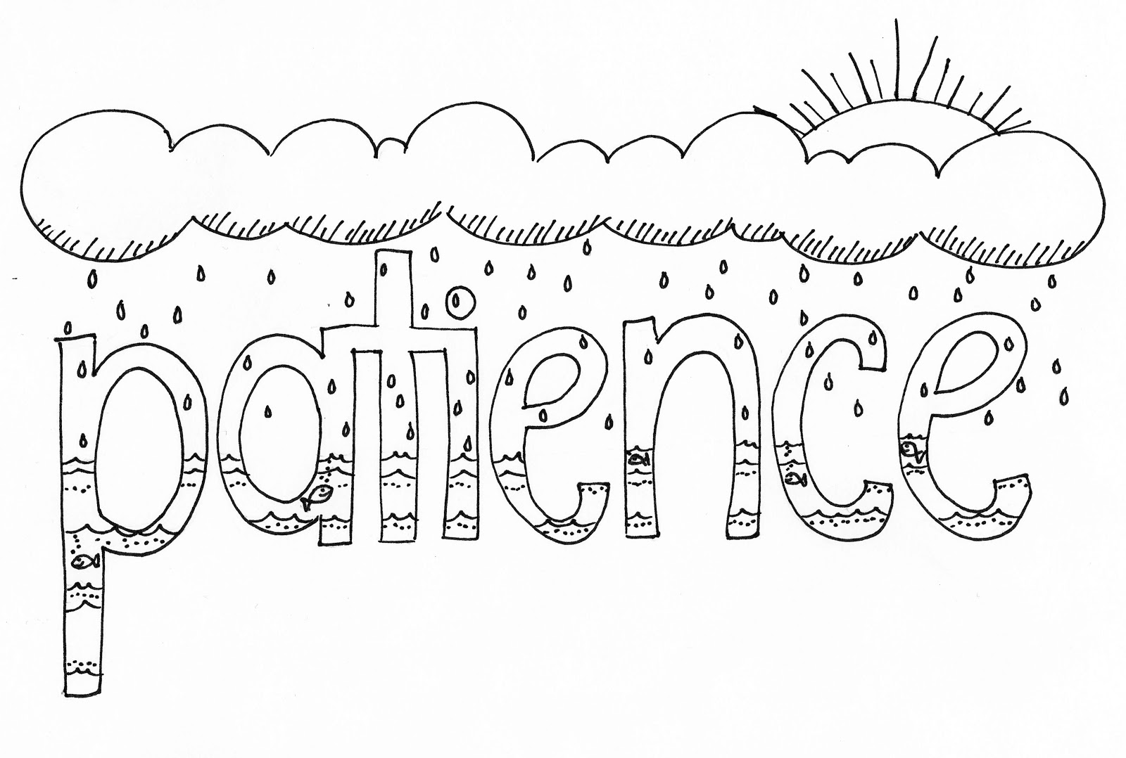 Bible Patience Coloring Coloring Coloring Pages