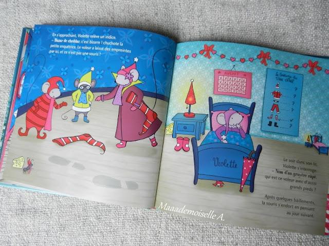 || Une aventure de Violette Mirgue : Une semaine pour sauver Noël (Présentation & Avis)(Chut, les enfants lisent #39)