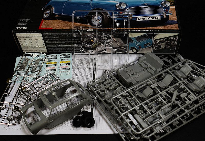 The Modelling News Review New Tool Revell 124th Mini Cooper