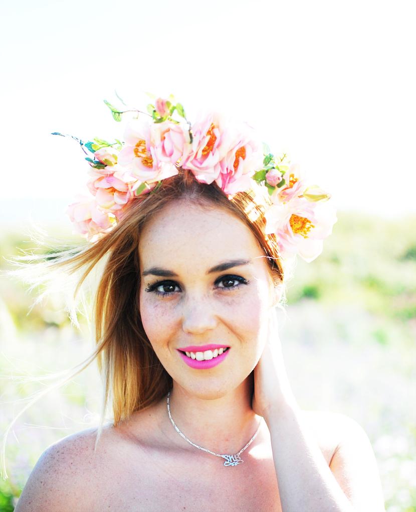 nery hdez, snb-me blog, corona de flores