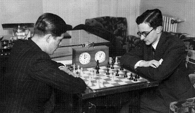 Match de ajedrez Lilienthal contra doctor Rey Ardid en 1934