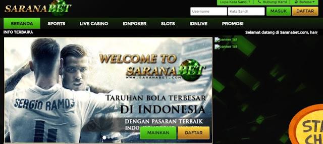 SaranaBet.com Sitsus Bandar casino Terpercaya 2018
