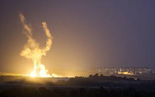 اسرائيل تقصف غزة بالطائرات والمدفعية