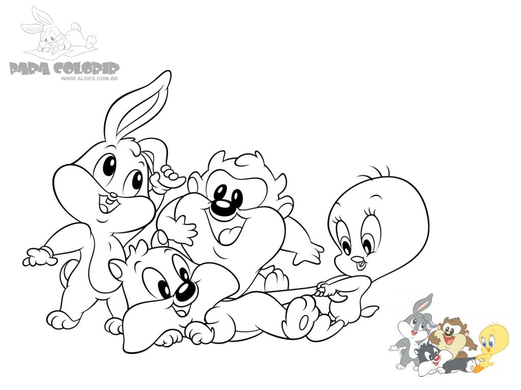 Desenhos Para Colorir Baby Looney Tunes