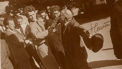 II Campeonato Mundial Estudiantil, Lyon 1955, con firma de Spassky