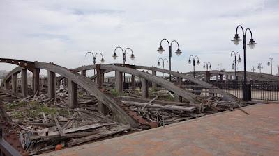 颶風Sandy災後現場