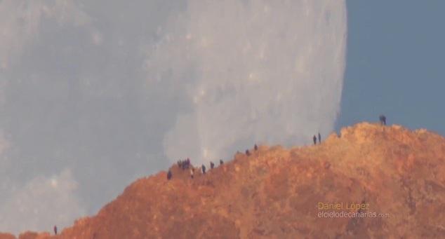 Ένα εντυπωσιακό βίντεο με την Σελήνη να πλησιάζει την Γη