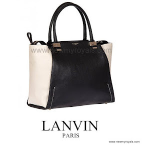Princess Marie of Denmark Style LANVIN Trilogy Ttote Bag